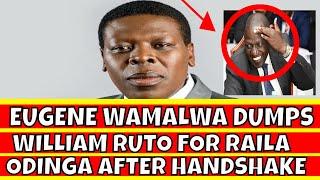 Eugene Wamalwa Dumps William Ruto for Raila Odinga after Uhuru Kenyatta handshake