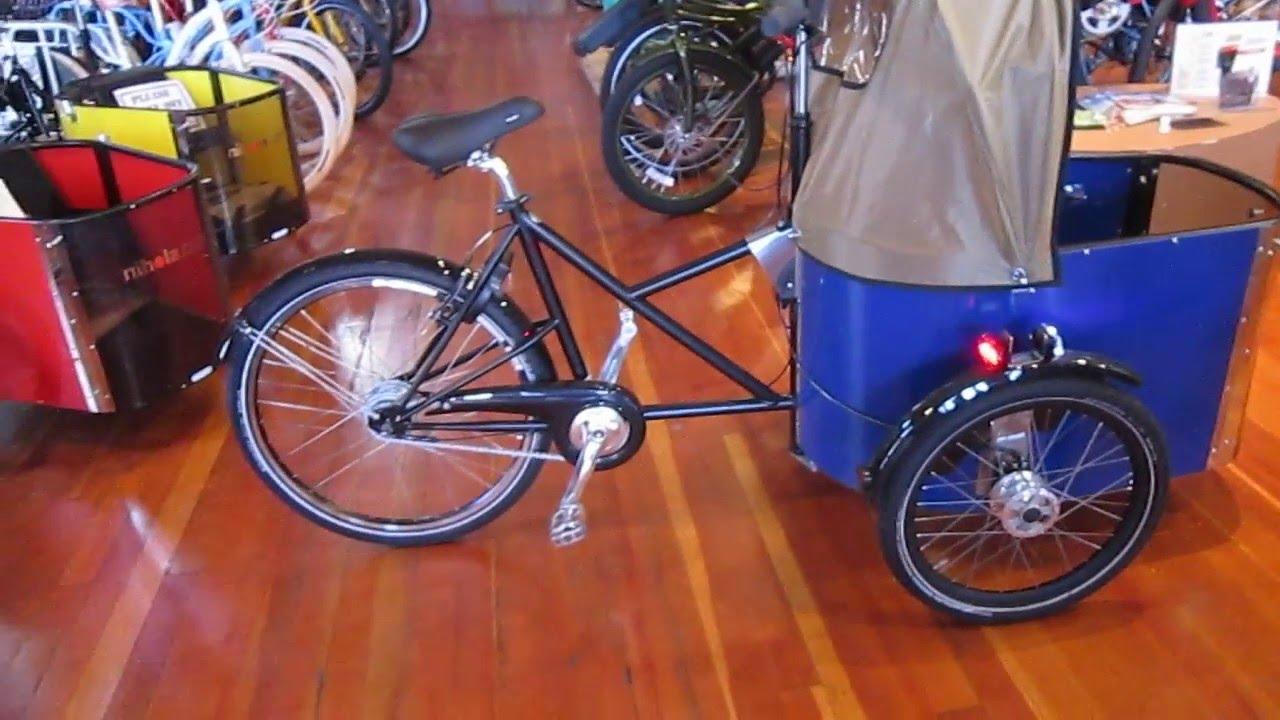 Nihola Cargo Bike Walkaround Youtube