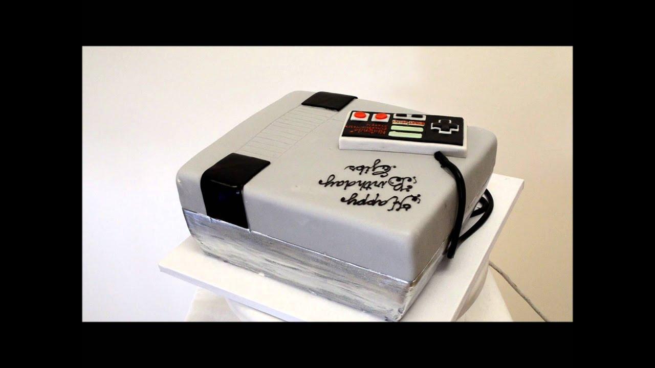 Nintendo Cake Game Console Cake Youtube