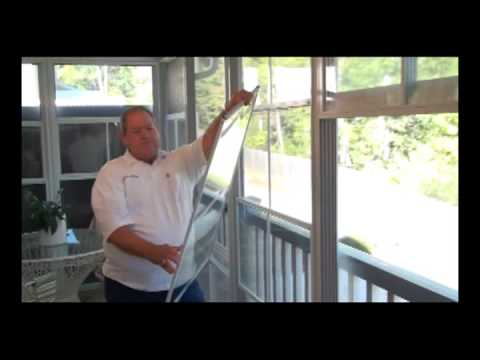 The Eze Breeze 4 Track Window System Youtube