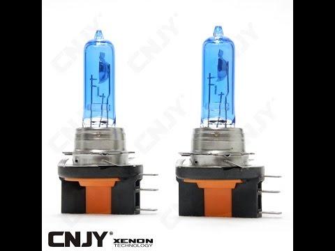 AMPOULE DE RECHANGE H15 15/55W LOOK XENON LED PLASMA KIT HID 5000K POUR MONTAGE SUR VW GOLV 6