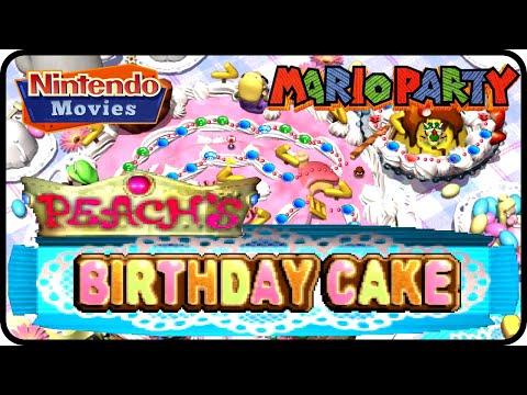 Mario Party - Peach's Birthday Cake