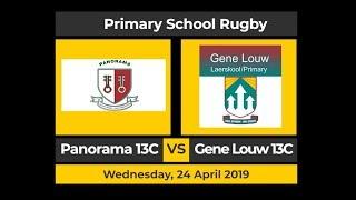 Schoolboy Rugby - Panorama u/13C vs Gene Louw u/13C