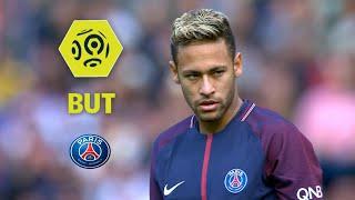 But NEYMAR JR (5') / Paris Saint-Germain - Girondins de Bordeaux (6-2)  / 2017-18