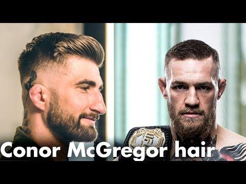 Conor McGregor hair  – Men's Crop haircut – Skinfade short hairstyle