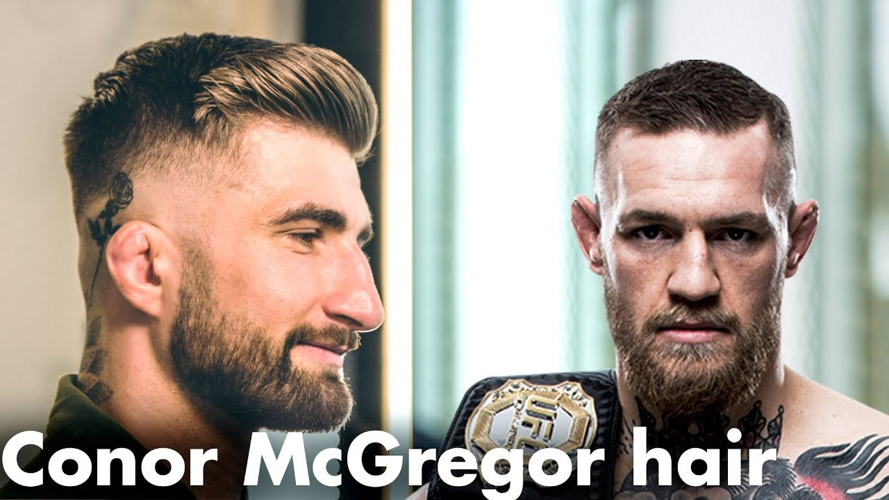 conor mcgregor hair - men's crop