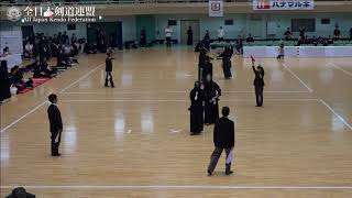 EHIME vs NAGASAKI 10th All Japan Interprefecture Ladies KENDO Championship 2018 2nd Round