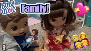 Baby Alive Boys Get Girlfriends: Family! | Kelli Maple