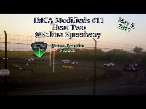 IMCA Modifieds #9, Heat, Salina Speedway, 2017