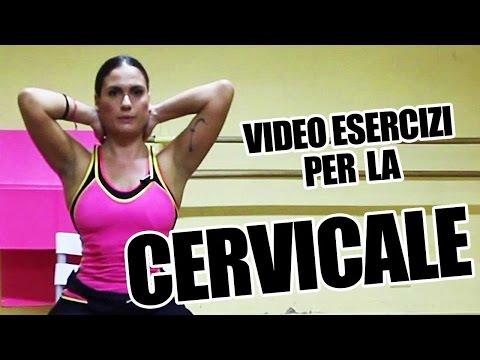 Cervicale e schiena: Esercizi posturali di automassaggio, manipolazione e rilassamento infiammazione