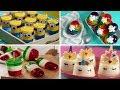 Gelatinas individuales para fiestas - YouTube