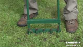 How to Aerate, Spike & Hollow Tine a Lawn