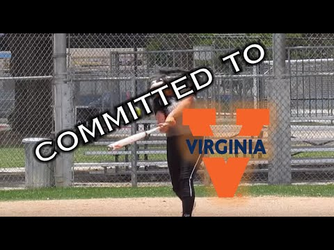 Donna Friedman 2018 C/3B Committed to University of Virginia Softball Recruit/Skills Video