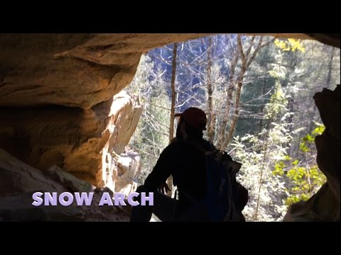 Hidden Trails of Red River Gorge: Hopewell, Snow, and Double Deer Arches w/ Copperas Falls