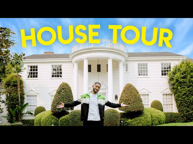Will Smith Fresh Prince Cast Give Tour Of Series Home People Com