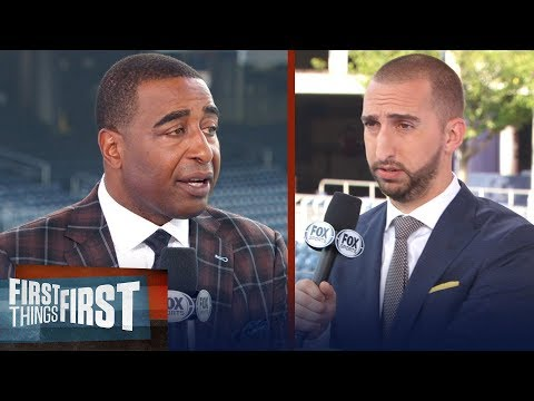 Cris Carter and Nick Wright on Kawhi Leonard trade rumors from Spurs | NBA | FIRST THINGS FIRST