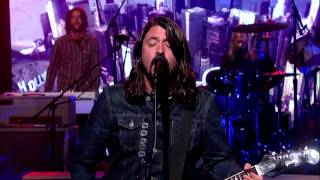 foo fighters something from nothing david letterman