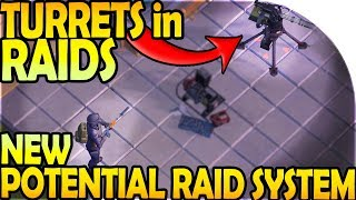 TURRETS in RAIDS! - NEW POTENTIAL RAID SYSTEM - Last Day On Earth Survival Update 1.8.7