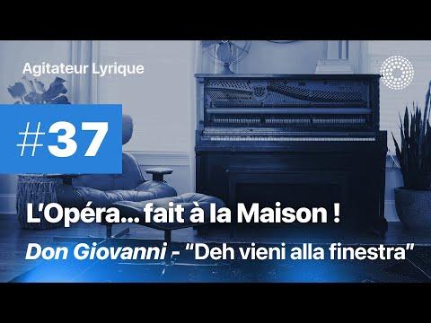 "L'Opéra à la maison #38 - W.A. Mozart: ""Deh vieni alla finestra"", air de Don Giovanni"