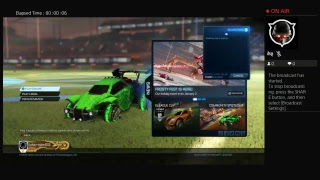 Rocket league gaming and trading