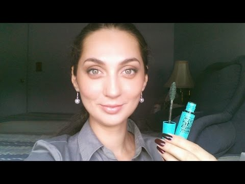 V55 How to Wear Colored Mascara (Part 1) featuring Maybelline Emerald Velvet