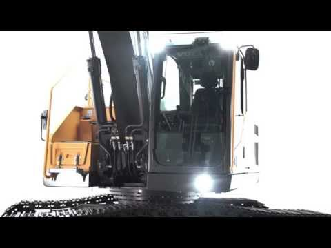 Volvo EC220E Crawler Excavator: Technologically Powered