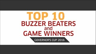 Top 10 Buzzer Beaters and Game Winners | PBA Governor's Cup 2016
