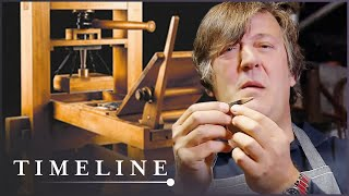 Stephen Fry: The History Of The First Printing Press | The Machine That Made Us | Timeline