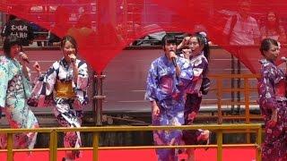 大阪☆歌謡女子団・大阪ミナミ400年祭・Osaka song girls team・Osaka Minami 400 years Festival of Japan