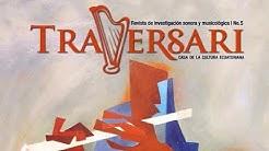 """Presentación de la Revista """"Traversari"""" en su quinta edición, 3 de octubre 18h30, Teatro Prometeo"""