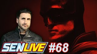 First Look at Robert Pattinson in the Batsuit! - SEN LIVE #68