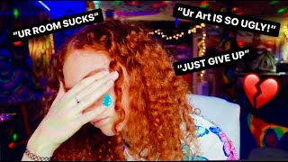 READING MORE HATE COMMENTS ABOUT MY ART..