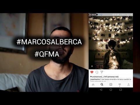 #MARCOSALBERCA en instagram , y quedadas por el mundo!