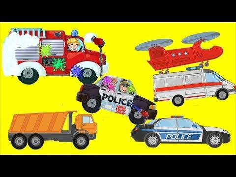 Мультики для мальчиков #ТРАНСФОРМЕРЫ *Сайдсвайп на ремонте двигателя!* #ИгрыДляМальчиков Роботы