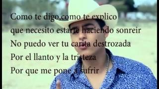 Te Metiste - Ariel Camacho - Letra ! ..... LETRA