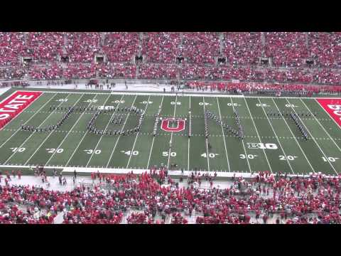The Ohio State University Marching Band Plays Hang On Sloopy In