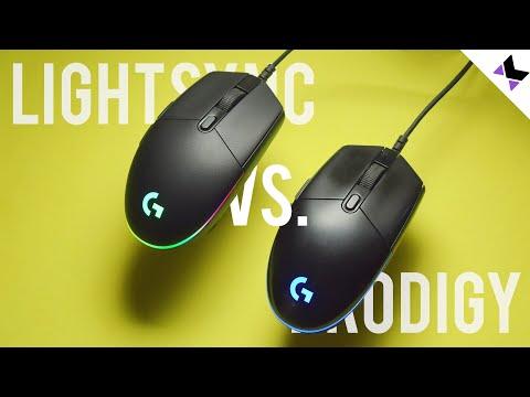 Logitech G102 LightSync Review Vs. Logitech G102 Prodigy | English Subtitles | Hindi