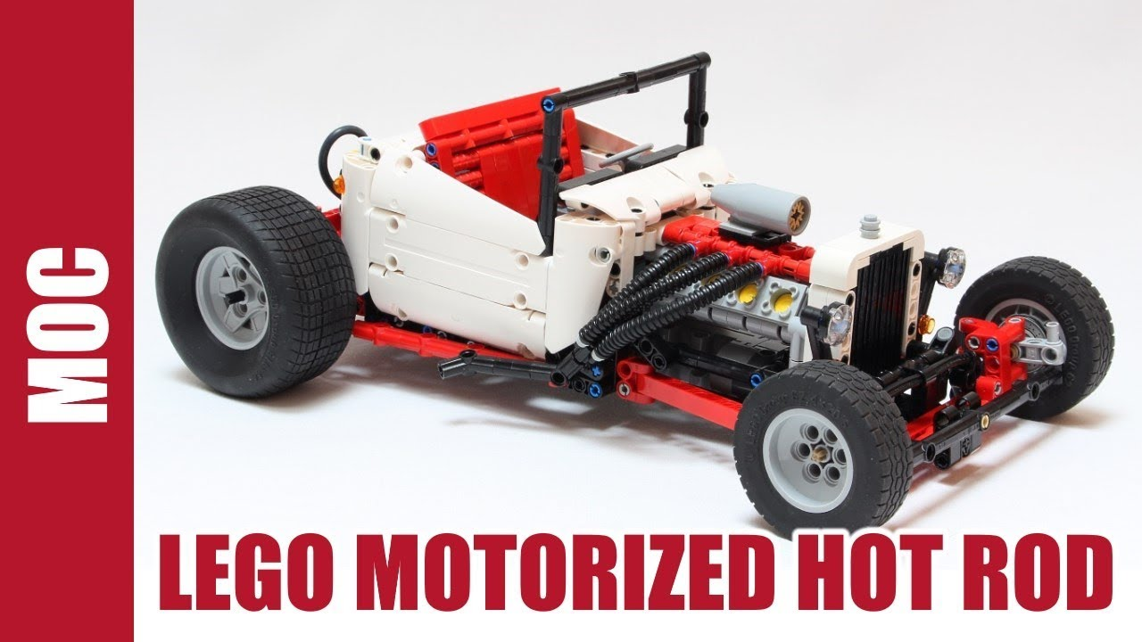lego technic motorized bucket hot rod youtube. Black Bedroom Furniture Sets. Home Design Ideas