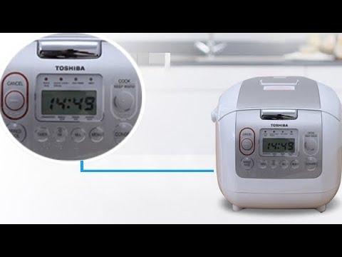 Cách dùng nồi cơm điện tử Toshiba RC-10NMFVN/18NMFVN