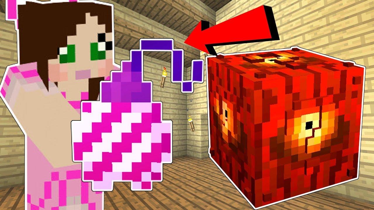 Minecraft: LUCKY BLOCK WEIRD!!! (BEACON APPLE, BALLOON HOE, & MORE!) Mod Showcase