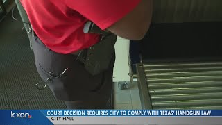 District Court forces City of Austin to allow guns in city hall
