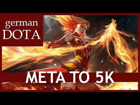 Dota 2 LINA - Let's Play Dota 2 Gameplay German