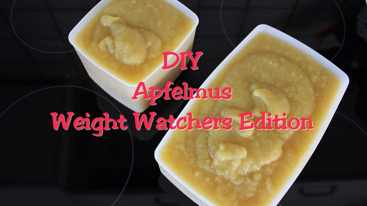 Apfelmus Diy Weight Watchers Edition Youtube