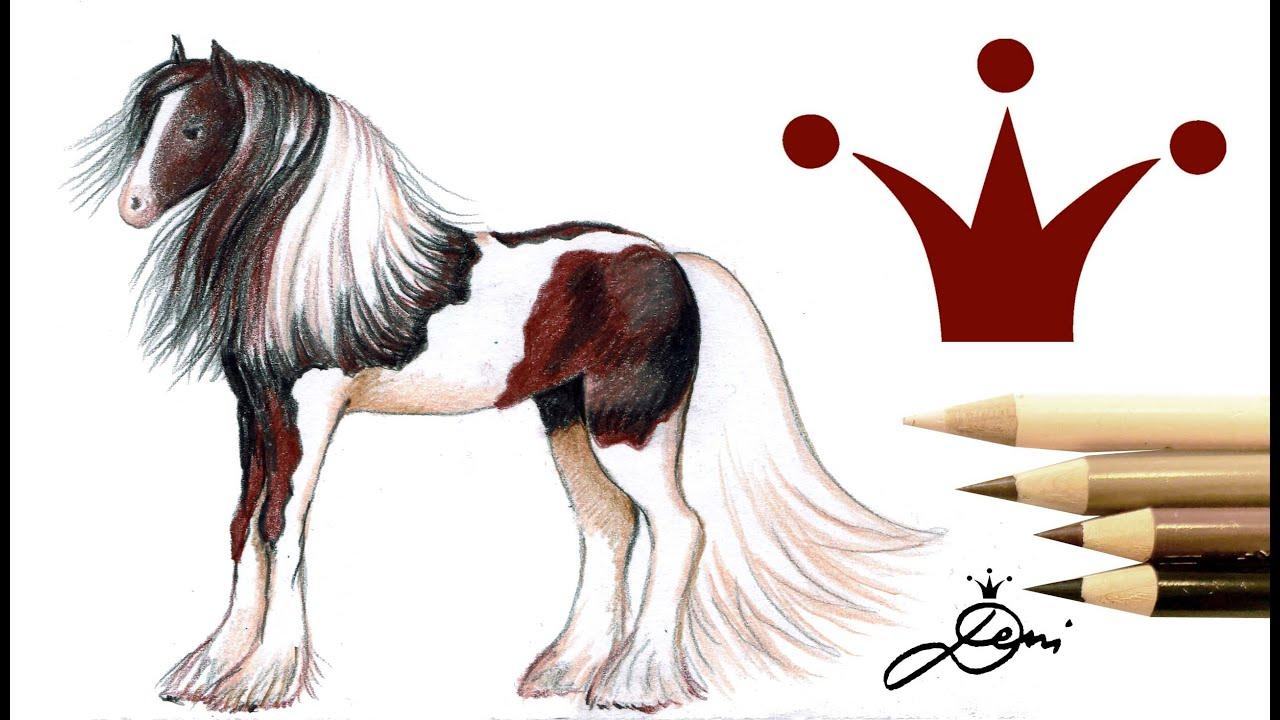 Download Tinker zeichnen 🐎 Wie zeichnet man ein Pferd 🐎 How to draw a horse - Pferd malen