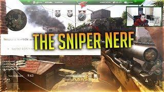 THE SNIPER NERF