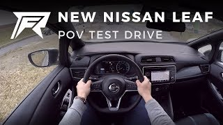 2018 Nissan Leaf - POV Test Drive (no talking, pure driving)