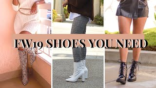 Fall Shoes You Need 2019 With …