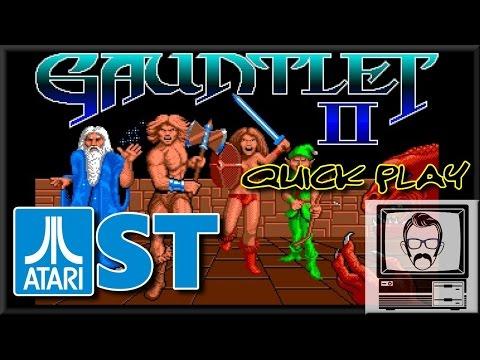 Gauntlet 2 Atari ST [Quick Play] | Nostalgia Nerd