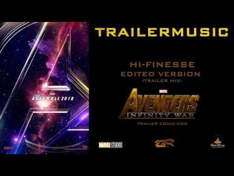 Avengers Infinity War - Trailer Comic-Con Music (Edited Version)