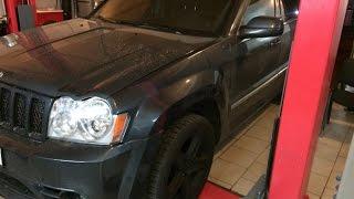 Ремонт Jeep Grand Cherokee.часть 3